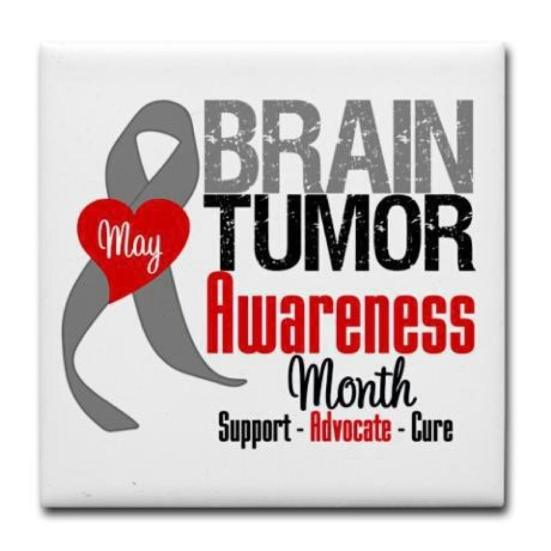 Brain tumor button